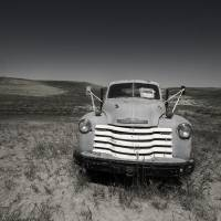 Lonely Truck for Sale Art Prints & Posters by Betty Sederquist