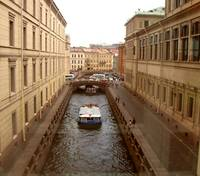 Canal Between Palace Walls