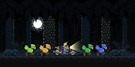 Cloud's Chocobo Squad