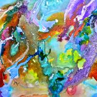 Nebula Art Prints & Posters by Anna Borsos Ruzsan