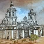 """Mexico City Metropolitan Cathedral"" by andy551"