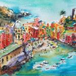 """""""Vernazza Dreams Italy Cinque Terre"""" by GinetteCallaway"""