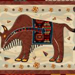 """Bison Americana 3D"" by ReneeLozenGraphics"