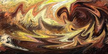 The Ocean Of Emotion Abstract Decorative Art