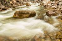 Hypnotized By A Rocky Mountain Stream