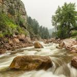 """South St Vrain Canyon Boulder County Colorado"" by lightningman"