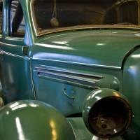 """Green Classic Car"" by Kirt Tisdale"