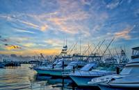 Coastal Marina Sunset