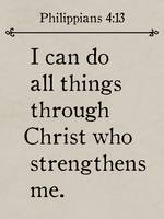 Philippians 4:13- Bible Verse Wall Art Collection