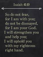 Isaiah 41:10 - Bible Verse Wall Art Collection