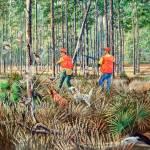 Quail Hunting- Late Season Covey