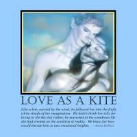 Love as a Kite Art Prints & Posters by Jaeda DeWalt