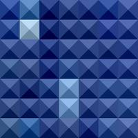 Cobalt Blue Abstract Low Polygon Background