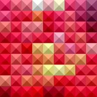 Electric Crimson Red Abstract Low Polygon Backgrou