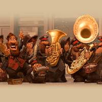 Salvation Army Band Art Prints & Posters by Dennis Jones