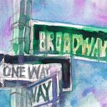 """BROADWAY"" by dfrdesign"