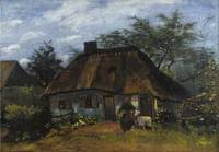 Vincent Van Gogh Farmhouse In Nuenen