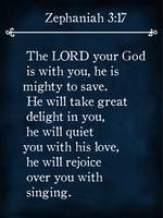 Zephaniah 3:17- Bible Verse Wall Art Collection
