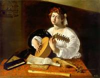 The Lute-player , Caravaggio