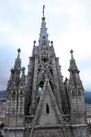Basilica Tower in Quito