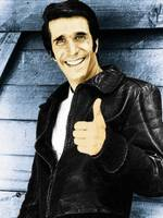 Fonzie Happy Days Painting