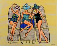 Retro Beach Art re0006