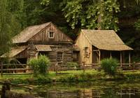 The Garber Mill and Cabin