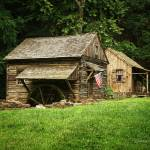 """""""Cuttalossa Mill and Cabin"""" by LouiseReeves"""