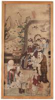 A GATHERING WITH SHOULAO, QING DYNASTY, 19TH CENTU