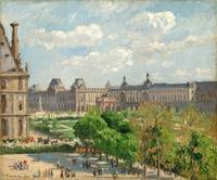 Camille Pissarro (Danish-French, 1830-1903), Place
