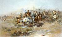 Charles Marion Russell, The custer Fight (1903)