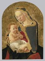 Central Italian School, 15th century MADONNA AND C