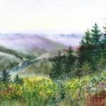 """Mountains Creek And Forest"" by IrinaSztukowski"