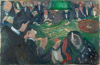 Edvard Munch - At the Roulette Table in Monte Carl