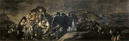 Francisco Goya , A Pilgrimage to San Isidro, 1819-