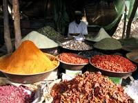 Various Spices in Africa