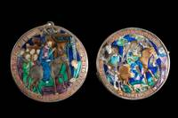 Anonymous France - 1325-50, 1,9 x 6,4 cm Flight of