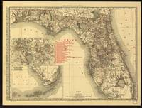 Antique Map of Florida by Rand McNally and Company