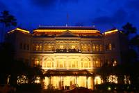 City Singapore by Night, Raffles Hotel