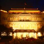 """City Singapore by Night, Raffles Hotel"" by sghomedeco"