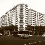 """Town of Singapore Monochrome, Pasir Ris"" by sghomedeco"