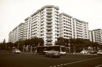 Town of Singapore Monochrome, Pasir Ris