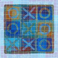 Tic-Tac-Toe (blue)