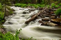 Flowing Rocky Mountain Stream