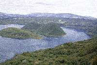 Volcanic Islands in Lake Cuicocha