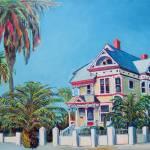"""Victorian House San Diego California"" by BeaconArtWorksCorporation"