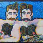 """Bosom Buddies by RD Riccoboni"" by BeaconArtWorksCorporation"