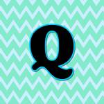 """Letter Q"" by paintingsbygretzky"