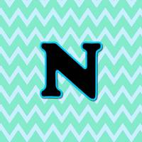 Letter N Art Prints & Posters by Paintings by gretzky