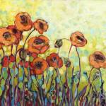 """Orange Poppies"" by JENLO"